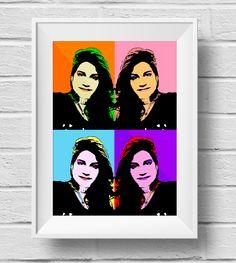 Autorretrato Pop - Técnica: Mixta digital - Autora: Andrea Ostos - DD2