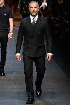 lapel  Dolce & Gabbana Fall 2015 Menswear - Collection - Gallery - Style.com