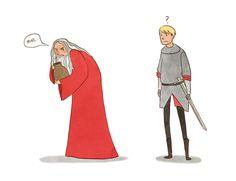 cosmic-nerd-angel: ... : you're like two sides of the same coin Merlin Memes, Merlin Funny, Merlin And Arthur, King Arthur, Bbc, Old Merlin, Merlin Fandom, Merlin Colin Morgan, Superwholock