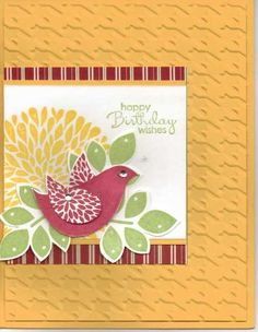 Betsy's Blossom Birthday Card