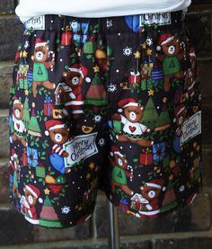 Christmas Bears cotton Boxers Boys Briefs Boys by restintheword