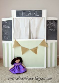 DIY Puppet Theater Lemonade Stand
