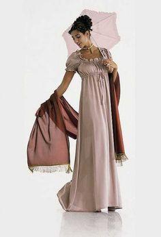 Burda 2493 - Carnaval, Josephine jurk
