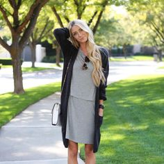 The Riley Dress - http://www.steviehenderson.com/product/riley-grey-dress/