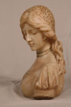 Sculpture Bust of a Woman, Pietro Bazzanti (Italian 1825-1895).