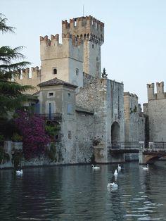 Sirmione, Scaliger castle (Castello Scaligero), Lake Garda
