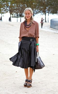 Lucinda Chambers, Paris Fashion Week: Street Styles, Part One