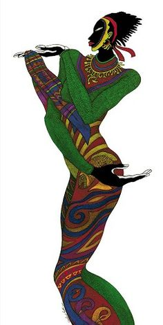 Charles Bibbs Ebony Series 6 -  Limited Edition # #Figurative  Ebony Series 6 Limited Edition