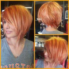 Tequila Sunrise hair by the lovely @anna_cantu #CHIcolor #FaroukSystems #AnnaCantu #ChiHairCare @farouksystems