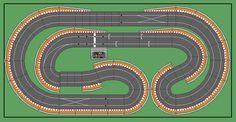 New Digital Track Designs - Page 3 - Tracks & Scenery - SlotForum - Page 3 Slot Car Race Track, Slot Car Racing, Slot Car Tracks, Race Tracks, Scalextric Digital, Scalextric Track, Carrera Slot Cars, Blur Photo, Circuit Design