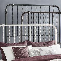 INSPIRE Q Gulliver Vintage Antique Spiral KING Iron Metal Bed