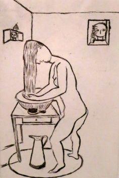 Louise Bourgeois - La toilette