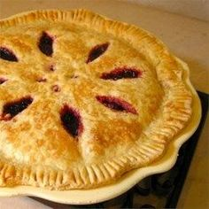 Raspberry Pie III Use more sugar, be sure it's Minute Tapioca and keep an eye on the crust. Allrecipes Desserts, No Bake Desserts, Just Desserts, Baking Desserts, Pie Recipes, Dessert Recipes, Cooking Recipes, Clam Recipes, Recipes