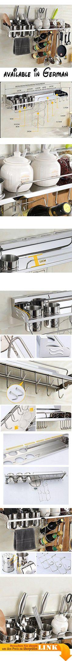 B078X4ZWKF  L Küchenregal Desktop Einstellbare Metallfarbe Ofen - hochschrank 30 cm breit küche