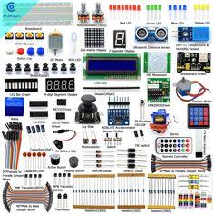 Adeept New Ultimate Starter learning Kit for Arduino MEGA 2560  DC Motor servo #Adeept