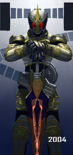 Kamen Rider Blade in king form