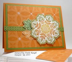 At Paula's Place: Stamping 411 Challenge 227 - uses sponging, snipping
