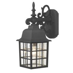 The Lighting Book NORFOLK - A traditional garden down light lantern in a black finish complete with glass panels. This would be This is absolutely ideal for use in use outside any rustic period property. Black Outdoor Wall Lights, Outdoor Wall Lantern, Outdoor Walls, Outdoor Flush Mounts, Outdoor Wall Sconce, Outdoor Wall Lighting, Garden Wall Lights, Porche, Dar Lighting