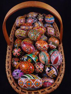 """Cyn Smith showing off her year of using Colorama Dyes by PysankyUSA. She really put all of her eggs in one basket! Cyn is PysankyUSA's go to teacher for duck eggs.Here is the link to order Cyn Smith's Fantastic 19"""" X 14"""" Duck Egg Calendar. It is sure to become a collectors item.   http://www.lulu.com/shop/cyn-smith/my-calendar/calendar/product-21415817.html"""
