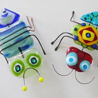 Image result for fused glass bugs