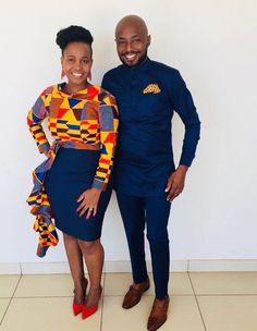 Matching Couples Outfits 2019 - Digital Living ✅ By Diyanu Couples African Outfits, African Clothing For Men, African Shirts, Latest African Fashion Dresses, African Dresses For Women, African Print Fashion, African Women, Ankara Fashion, Africa Fashion