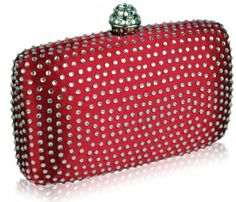 New in this season, the red evening bag is ideal for brides, parties and proms and will match many outfits.