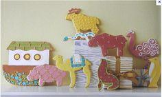 Noah's ark cookies