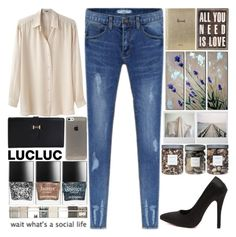 """""""O1. LUCLUC"""" by raelee-xoxo ❤ liked on Polyvore featuring Acne Studios, Harrods, Butter London, Foxy Potato, Threshold, raeleespenguin, scroll_position, amberzoelookhere and lucluc"""