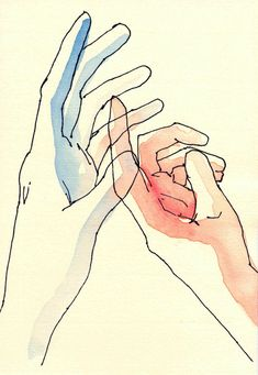 Hands,something I struggle with in my art.This is just a drawing,not a tutorial.