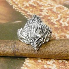 STERLING SILVER BANSHEE RING .925 / NICKEL FREE