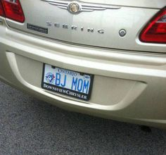 Funny ontario plate, adult joke