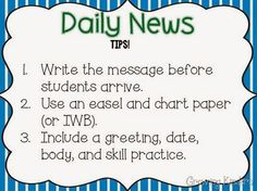 Lots of good tips and ideas for daily news.  Makes me want to give it a try!
