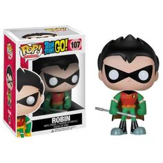 Funko POP TV: Teen Titans Go! - Robin Action Figure -
