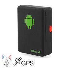 2016 Localizador Global Tempo Real Mini Carro Criança A8 GSM/GPRS/LBS Rastreamento Rastreador Cabo USB