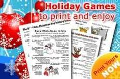 """Christmas trivia is fun for everyone! The answer to the question, """"In The 12 Days Of Christmas What Gift Is Given On The Day?"""", the answer is, """" GOLD RINGS."""" Let's find some more fun trivia ideas so you can get the fun holiday games you need. Christmas Trivia Questions, Christmas Trivia Games, Printable Christmas Games, Christmas Games For Family, Holiday Games, Christmas Activities, A Christmas Story, Holiday Fun, Christmas Holidays"""