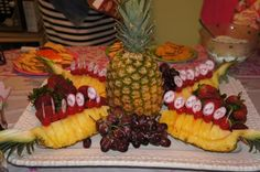 Baby Shower Fruit Tray   Baby