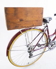 Vintage Lancaster Tools Upcycled Bicycle Crate