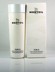 Monteil Paris Pure-N 6.7 oz. Calming Matifying Toner by Monteil Paris. $24.00. Paraben Free. Appropriate for any skin type. This alcohol free facial lotion has an intense cleansing effect and soothes irritated skin.  It balances sebum production, thus effectively preventing impurities.. Save 51% Off!