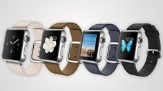 There are three case models to choose from and a variety of wristbands -- not to mention millions of options for the screen interface.