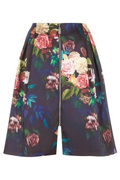 Blur Rose Midi Skirt - Topshop