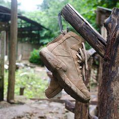 Oakley LSA Boot - keep em up off the ground so no nasty little critters get Oakley assault boot