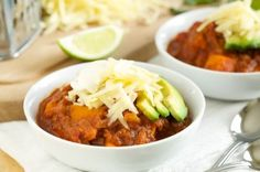 Crockpot Sweet Potato Chili | GI 365GI 365 ground turkey?