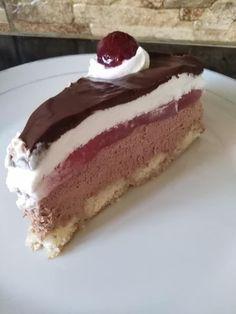 Πάστα ανάμεικτη και στη μέση κερασόκρεμα !!! ~ ΜΑΓΕΙΡΙΚΗ ΚΑΙ ΣΥΝΤΑΓΕΣ 2 Cookbook Recipes, Dessert Recipes, Cooking Recipes, Sweets Cake, No Bake Cake, Vanilla Cake, Tiramisu, Cheesecake, Deserts