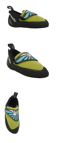 Youth 158980: Evolv Venga Kid S Climbing Shoes Blue Lime Green 4 Big Kid Medium -> BUY IT NOW ONLY: $60.47 on eBay!