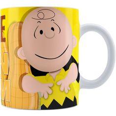 Caneca Snoopy Chocolate com Amendoim Charlie