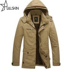 77.49$  Buy here - http://ali3r0.worldwells.pw/go.php?t=32594469170 - New winter Men Jacket Brand warm Jacket Man's Coat Autumn Cotton Parka Outdoors coat Free shipping men winter jacket M-3xl 308