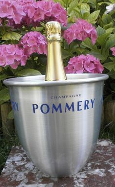 French POMMERY Seau à champagne Made in par FrenchVintageByManue