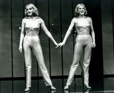 Le Gemelle Kessler durante gli anni 60