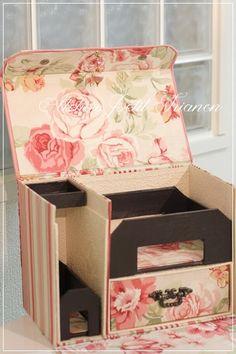 Petit Trianon *** cartonnage & interior ***