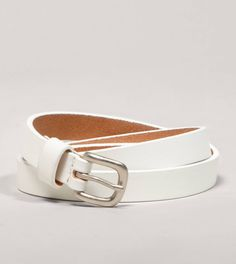 AEO Colored Leather Skinny Belt!!